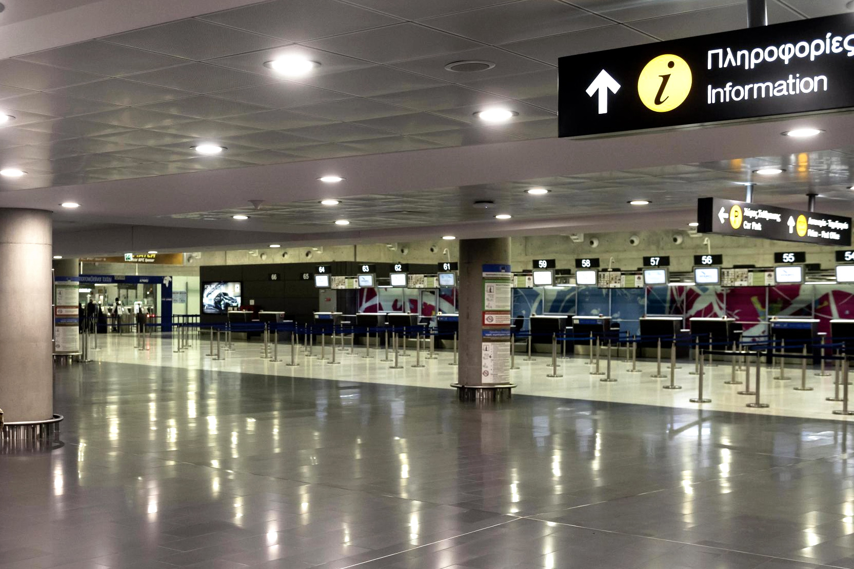 Arrivals in Cyprus plummet in 2020 due to Covid-19